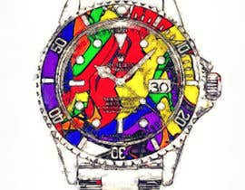 #1 untuk Artistic Crazy Edge On Watch Face oleh Dayna2