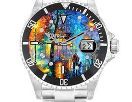 #4 para Artistic Crazy Edge On Watch Face de nishantjain21