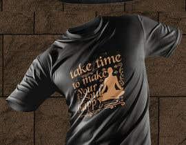 #221 pentru Unique Affirmation T-Shirt Designs de către Bishowjit25
