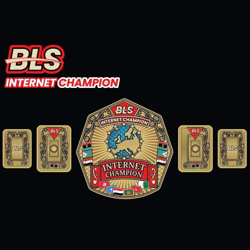 Bài tham dự cuộc thi #                                        45                                      cho                                         designing a wrestling champion belt