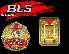 #40 cho designing a wrestling champion belt bởi SamiBaloach