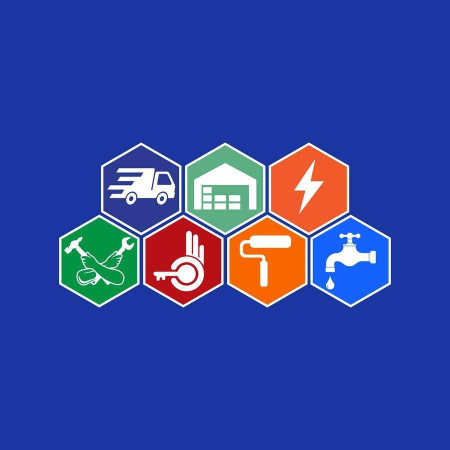 Bài tham dự cuộc thi #                                        71                                      cho                                         Logo for a multi services company
