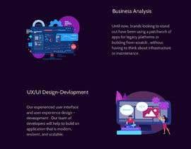 #50 untuk Design 1 landing page for a developer team oleh hbkamarjot