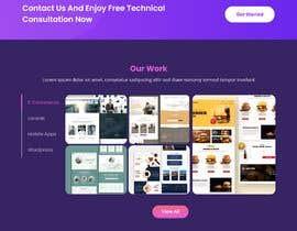 #45 untuk Design 1 landing page for a developer team oleh revanmohamed40