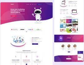 #55 pentru Design 1 landing page for a developer team de către tamimdesigner