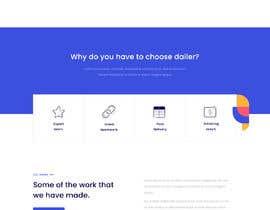 #34 untuk Design 1 landing page for a developer team oleh freelancerasraf4