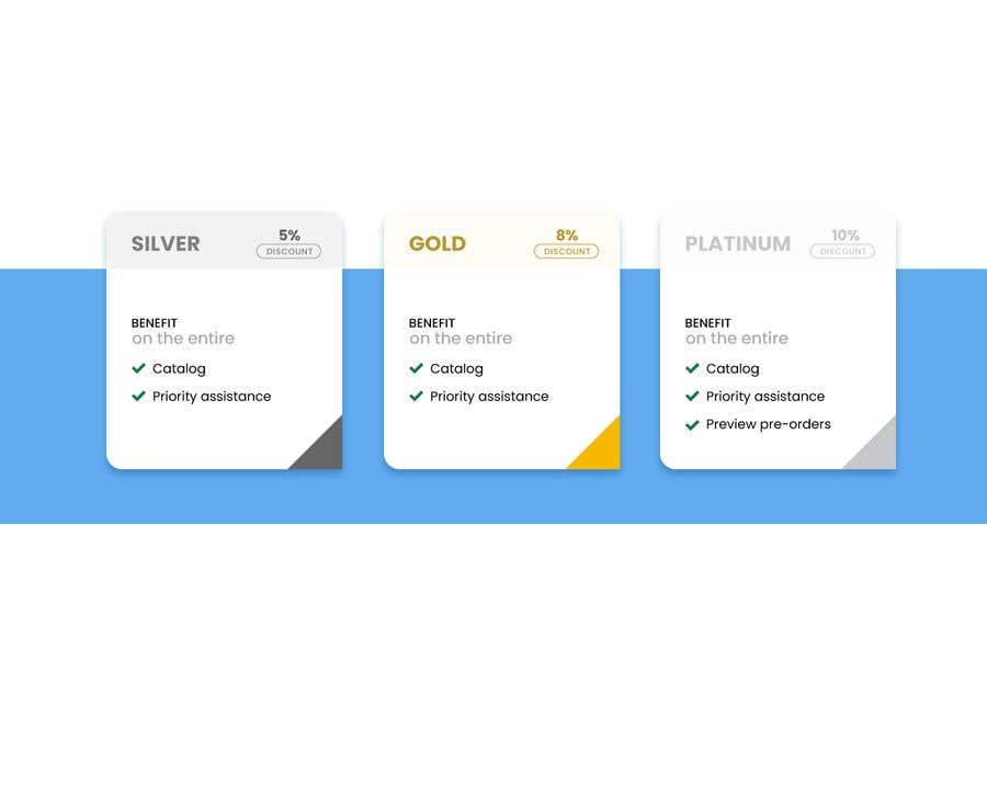 Konkurrenceindlæg #                                        7                                      for                                         Loyalty Program Webpage Presentation