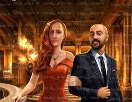 Nro 54 kilpailuun Illustrate a painting of me and my partner käyttäjältä Mukulghalot