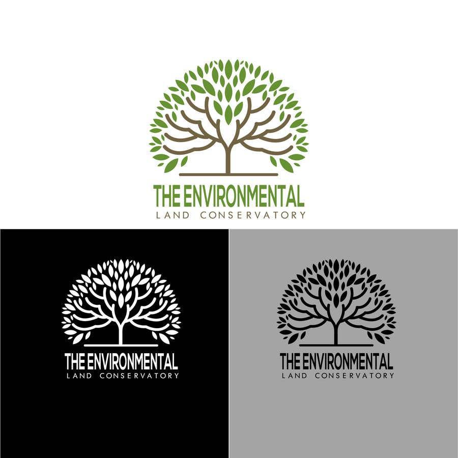"Intrarea #                                        18                                      pentru concursul ""                                        Logo for ""Environmental Land Conservatory""                                     """