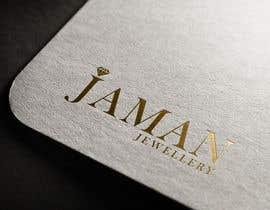 """Nro 98 kilpailuun design a logo for my jewellery  company  """""""" Jaman """""""""""" käyttäjältä armanhasan106"""