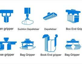 #5 cho Design some Icons for robotic machinery implements bởi lanangali