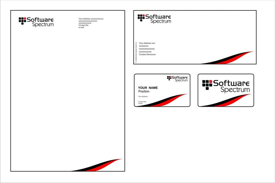 Contest Entry #                                        44                                      for                                         Stationery Design for IT Company