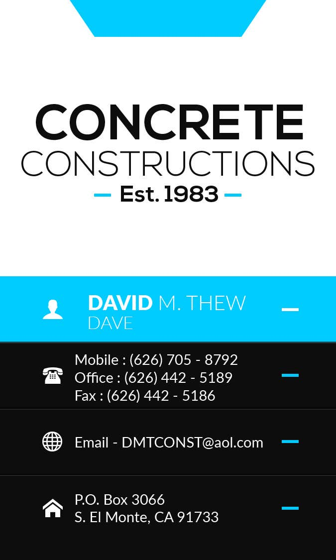 Contest Entry #33 for Business Card Design