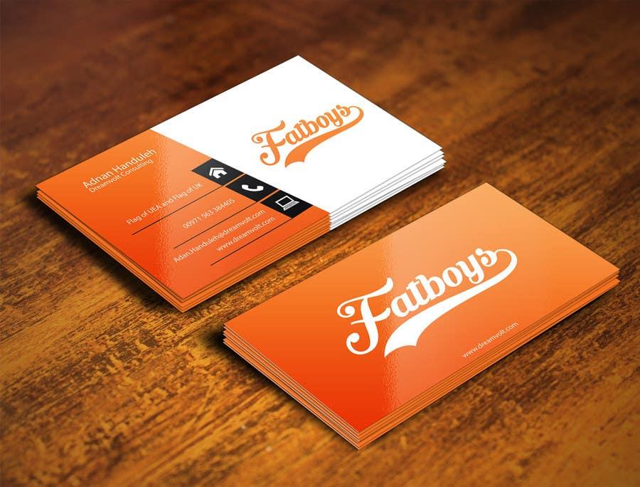 Konkurrenceindlæg #15 for Design some Business Cards for Fatboys