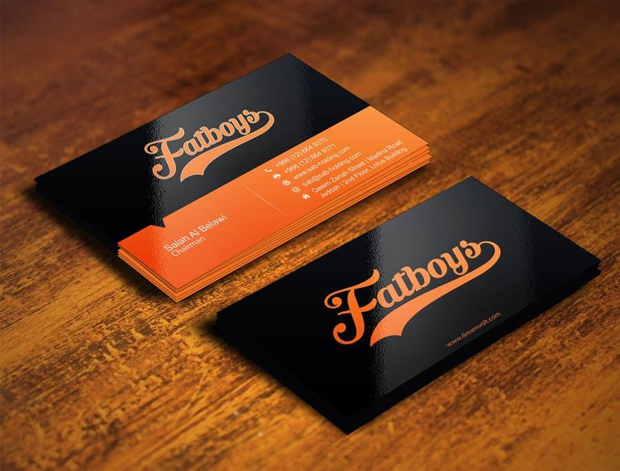 Konkurrenceindlæg #28 for Design some Business Cards for Fatboys