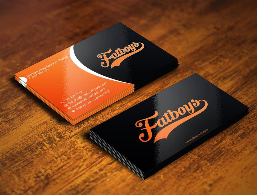 Konkurrenceindlæg #77 for Design some Business Cards for Fatboys