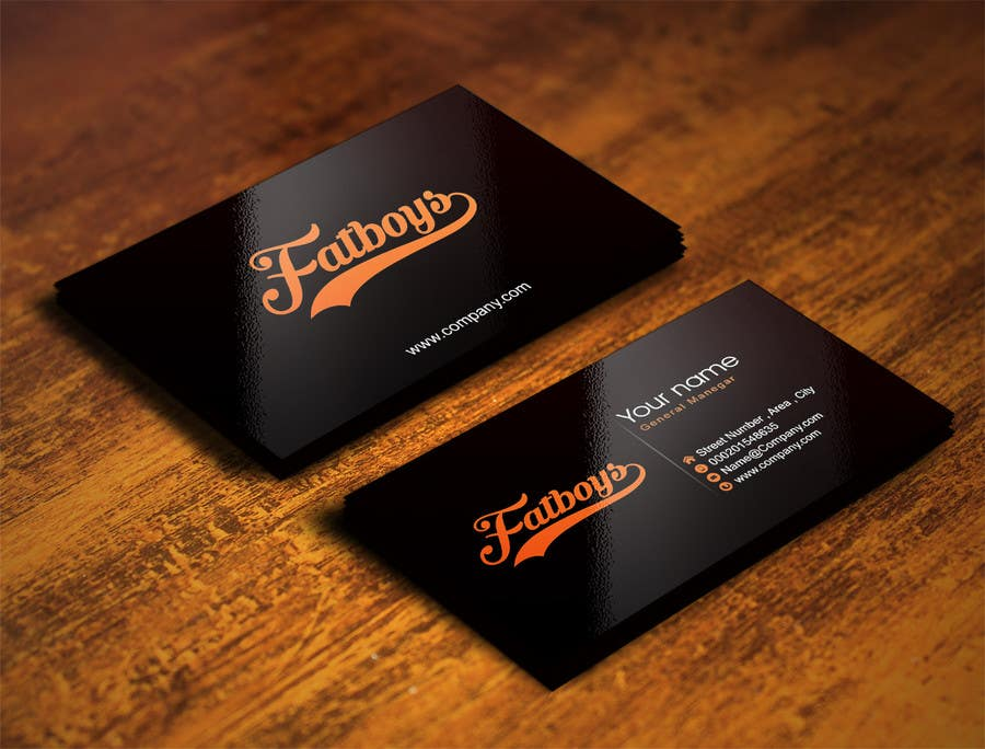 Konkurrenceindlæg #51 for Design some Business Cards for Fatboys