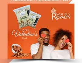 Nro 40 kilpailuun Need 4 facebook / Instagram post for valentines day käyttäjältä imranislamanik