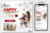 Graphic Design Kilpailutyö #54 kilpailuun Need 4 facebook / Instagram post for valentines day