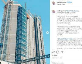 #55 cho Find One Piece of Instagram Content (Construction/Scaffold Industry) bởi Ragul018