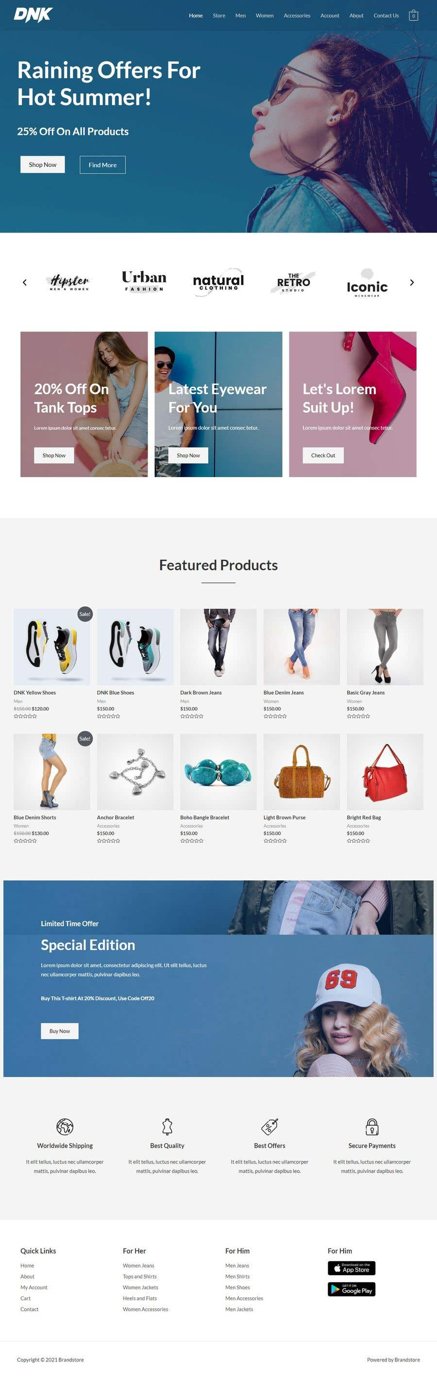 Bài tham dự cuộc thi #                                        16                                      cho                                         I need a Landing Page Website for Small Business Stores