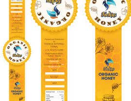 #30 for Cover Design 02 _ Honey Bottle Sticker af LaGogga