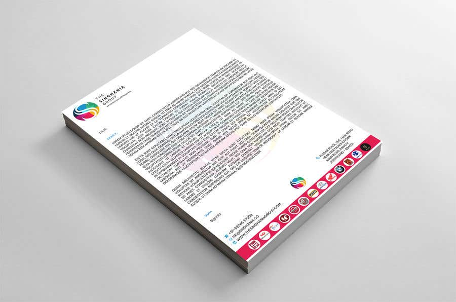 Contest Entry #                                        20                                      for                                         A premium letterhead to be designed.