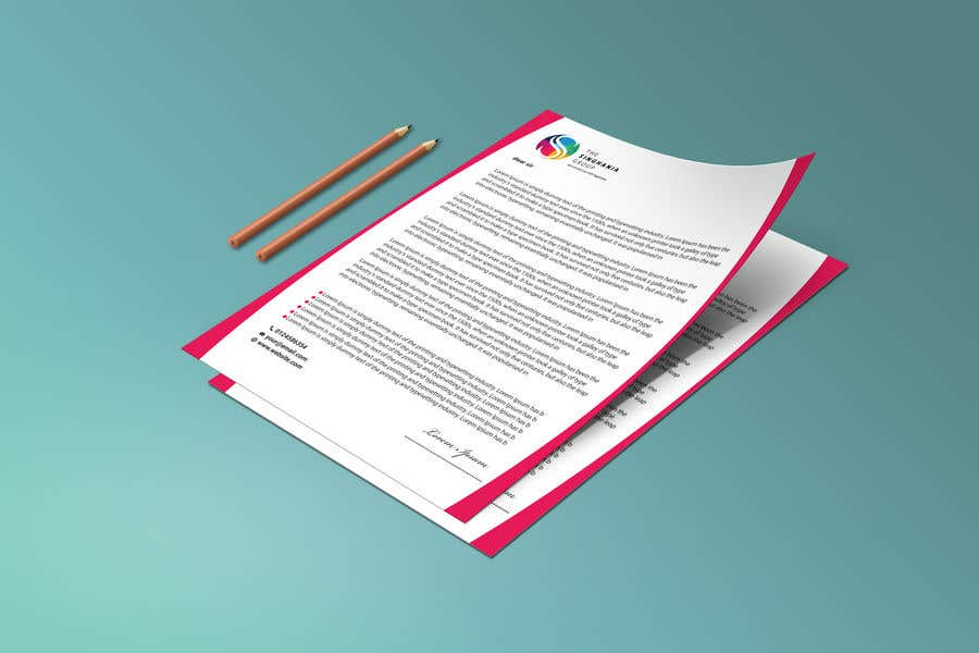 Contest Entry #                                        36                                      for                                         A premium letterhead to be designed.