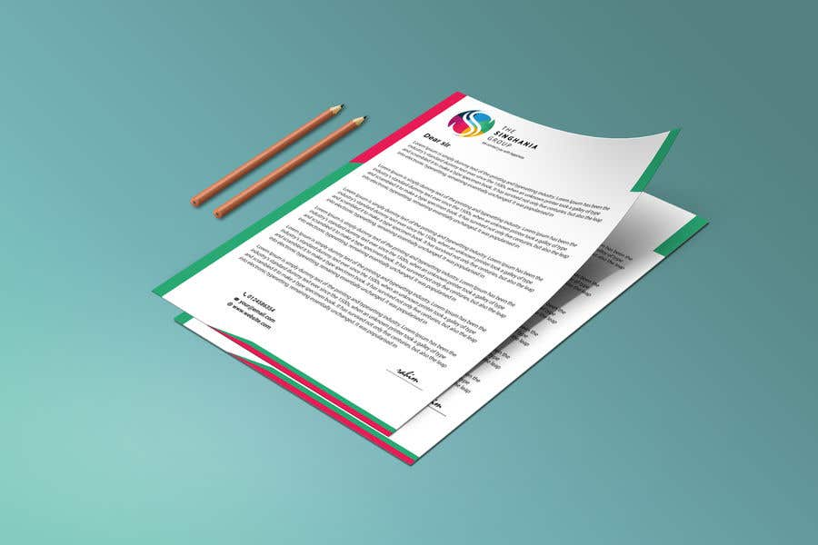 Contest Entry #                                        39                                      for                                         A premium letterhead to be designed.