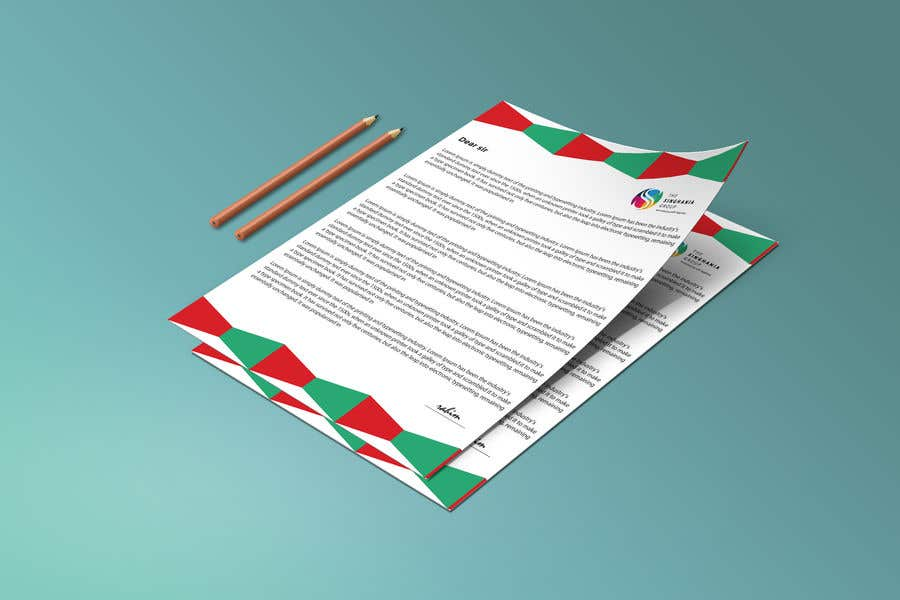 Contest Entry #                                        40                                      for                                         A premium letterhead to be designed.