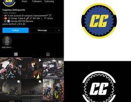 #87 cho Create a motorcycle instagram / youtube logo - Minimalist in approach bởi AnnaMelnyk