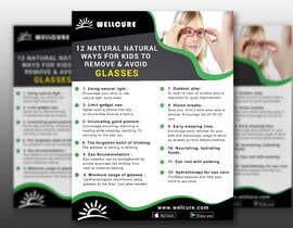 #5 для Need to create an infographic poster for eye care blog of Wellcure от Sabeth48