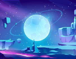 #29 for Space Background designs by aanik8939