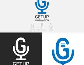 #10 for Looking for a logo for a radio show. The radio show is Getup Motivation by cutenechaev