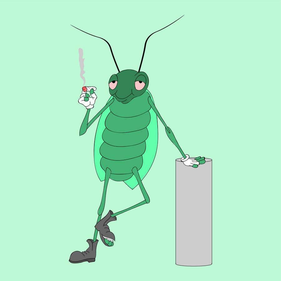 Конкурсная заявка №                                        7                                      для                                         Roach Cartoon Character for a new website - 20/01/2021 20:06 EST