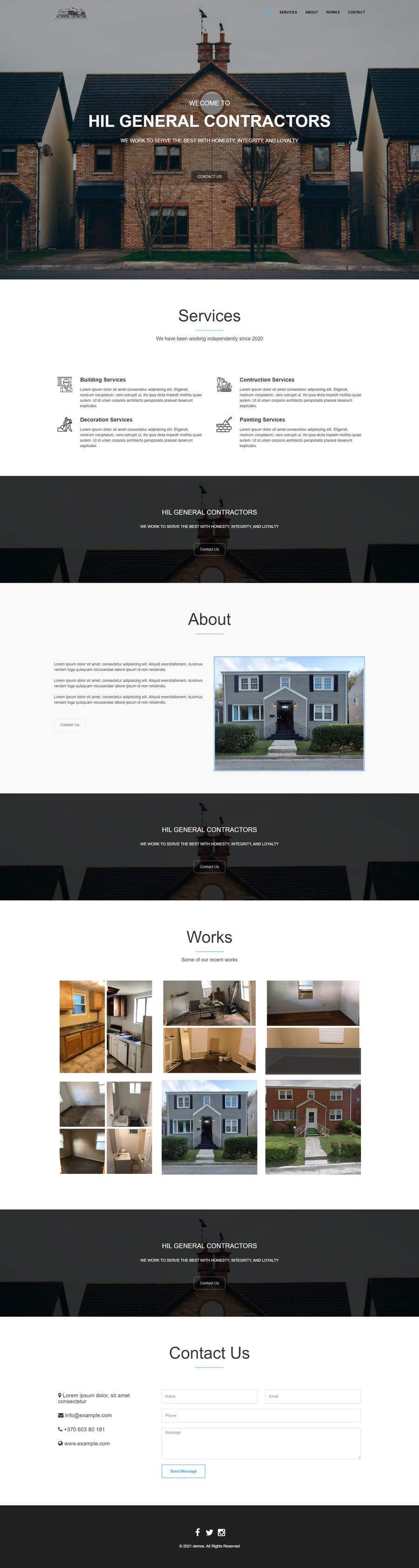 Kilpailutyö #                                        53                                      kilpailussa                                         Build me a website