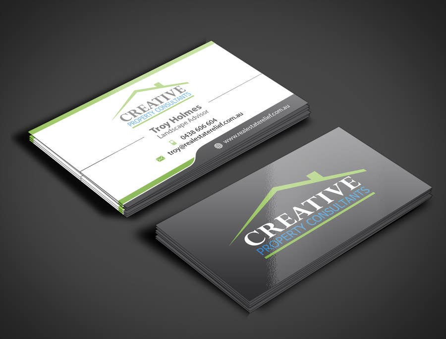 Konkurrenceindlæg #                                        78                                      for                                         Design some Business Cards for Creative Property Consultants