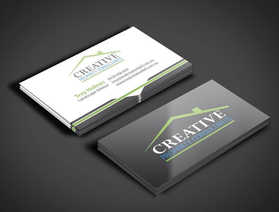 Konkurrenceindlæg #                                        91                                      for                                         Design some Business Cards for Creative Property Consultants