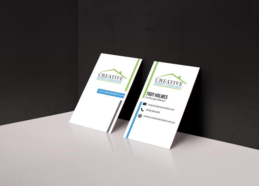 Konkurrenceindlæg #                                        127                                      for                                         Design some Business Cards for Creative Property Consultants