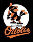 Graphic Design Inscrição do Concurso Nº9 para Baltimore Orioles Custom T-shirt design