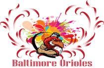 Graphic Design Inscrição do Concurso Nº8 para Baltimore Orioles Custom T-shirt design