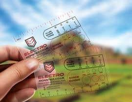 #127 untuk Transparent business card design oleh shaeelj