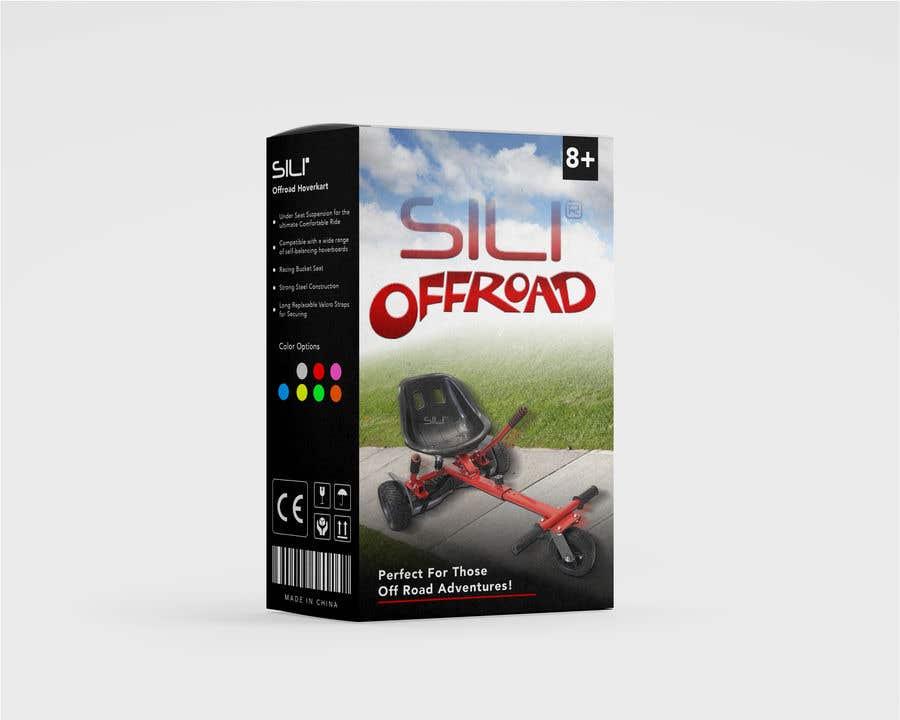 Kilpailutyö #                                        30                                      kilpailussa                                         Packaging Design - Colour Outer Box for Kids Toy (Hoverkart)