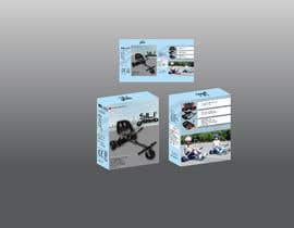 Nro 22 kilpailuun Packaging Design - Colour Outer Box for Kids Toy (Hoverkart) käyttäjältä rimidk2020