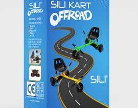 Nro 33 kilpailuun Packaging Design - Colour Outer Box for Kids Toy (Hoverkart) käyttäjältä niazhire