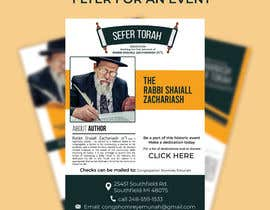 nº 151 pour Design a Flyer for an Event (Sefer Torah) par imranislamanik