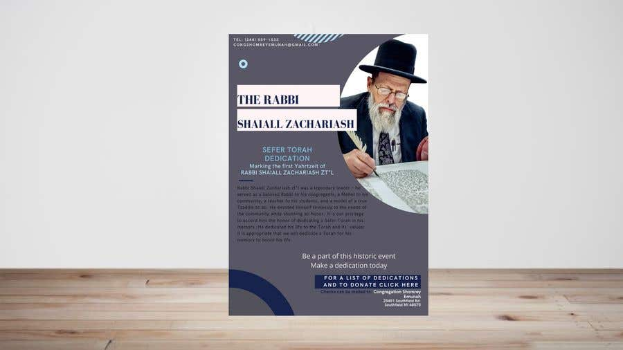 Proposition n°                                        10                                      du concours                                         Design a Flyer for an Event (Sefer Torah)