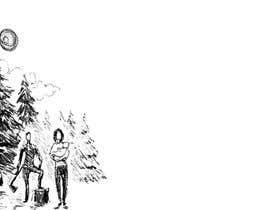 #1 cho Family at wood splitting line drawing bởi oktaroko