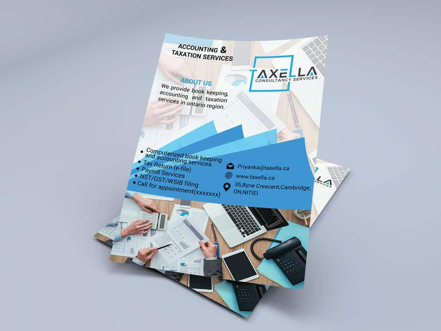 Kilpailutyö #                                        17                                      kilpailussa                                         Brochure Design for Business Firm.