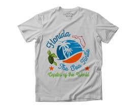 #312 для FLORIDA SEA TURTLE T- SHIRT DESIGN от sabujstudio